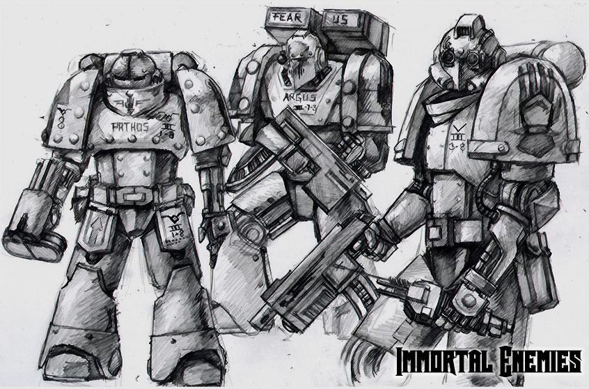 Iron Hands - Concept by tacticangel