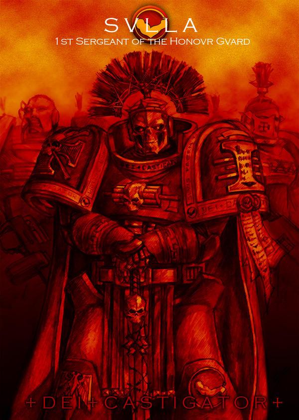Castigator 1st Sgt Sulla by tacticangel