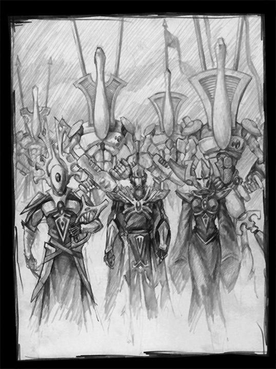 Enter the Eldar by tacticangel