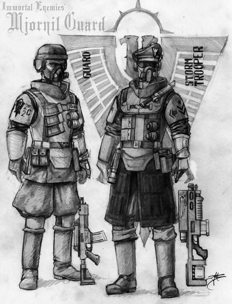 Mjornil Guard by tacticangel
