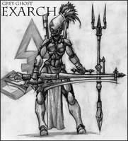 Grey Ghost Exarch Concept by tacticangel