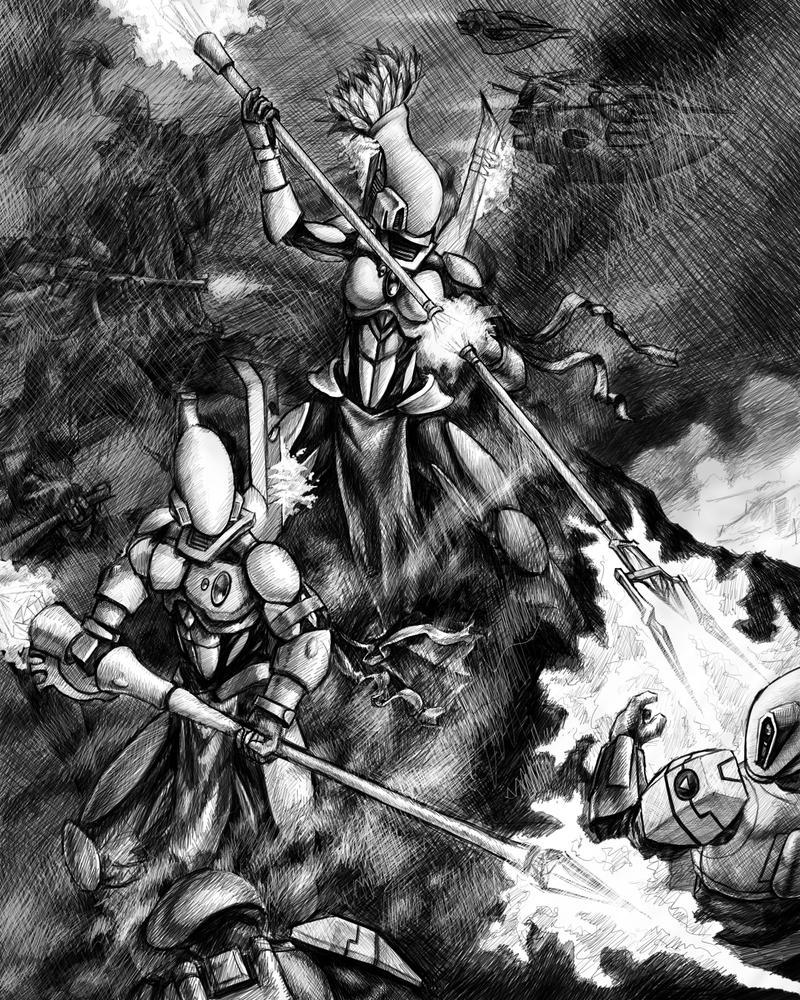 Eldar Grey Ghost Codex Entry by tacticangel