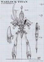 Warlock Titan Scale BluePrint