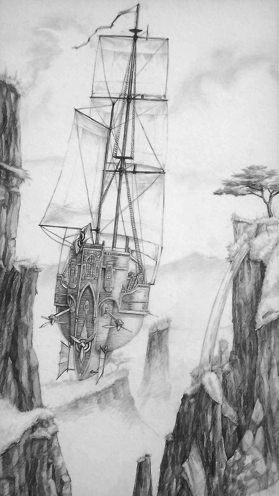 Airship - Into the Unknown by tacticangel