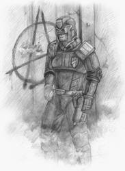 Dredd by tacticangel