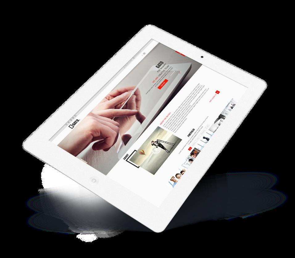 6 psd templates website free download by artfoxstudio on deviantart. Black Bedroom Furniture Sets. Home Design Ideas
