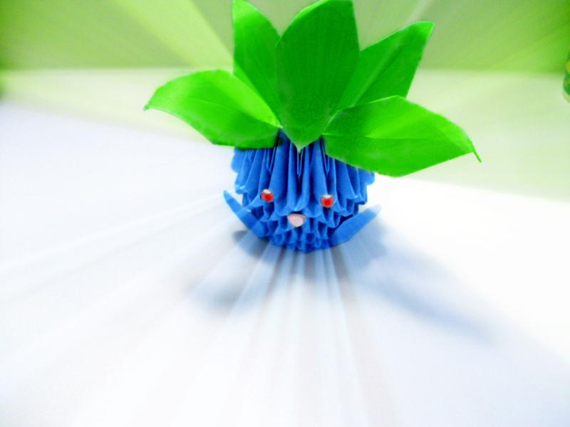 Pokemon Origami Oddish By Cheungb10 On Deviantart
