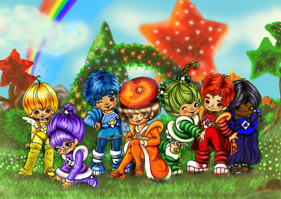 Rainbow Brite: The Color-Kids by AmarineCraft