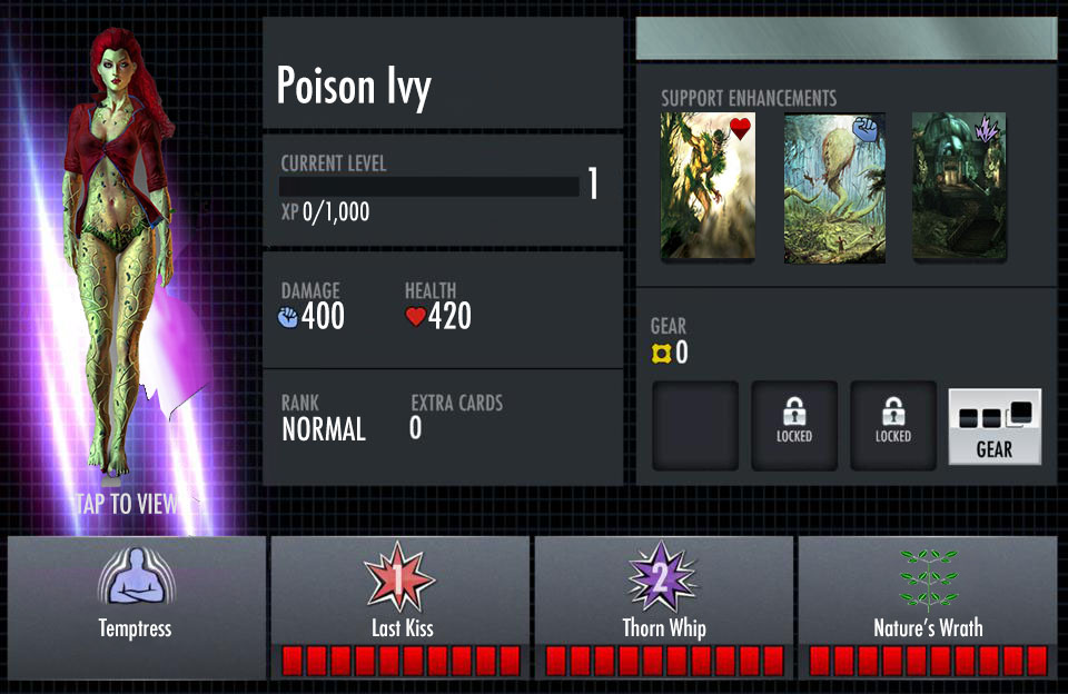 Poison Ivy Injustice iOS Card (Back) by MajesticEagle on ...