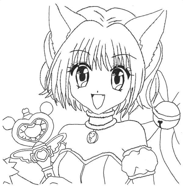 tokyo mew ichigo coloring pages - photo#1