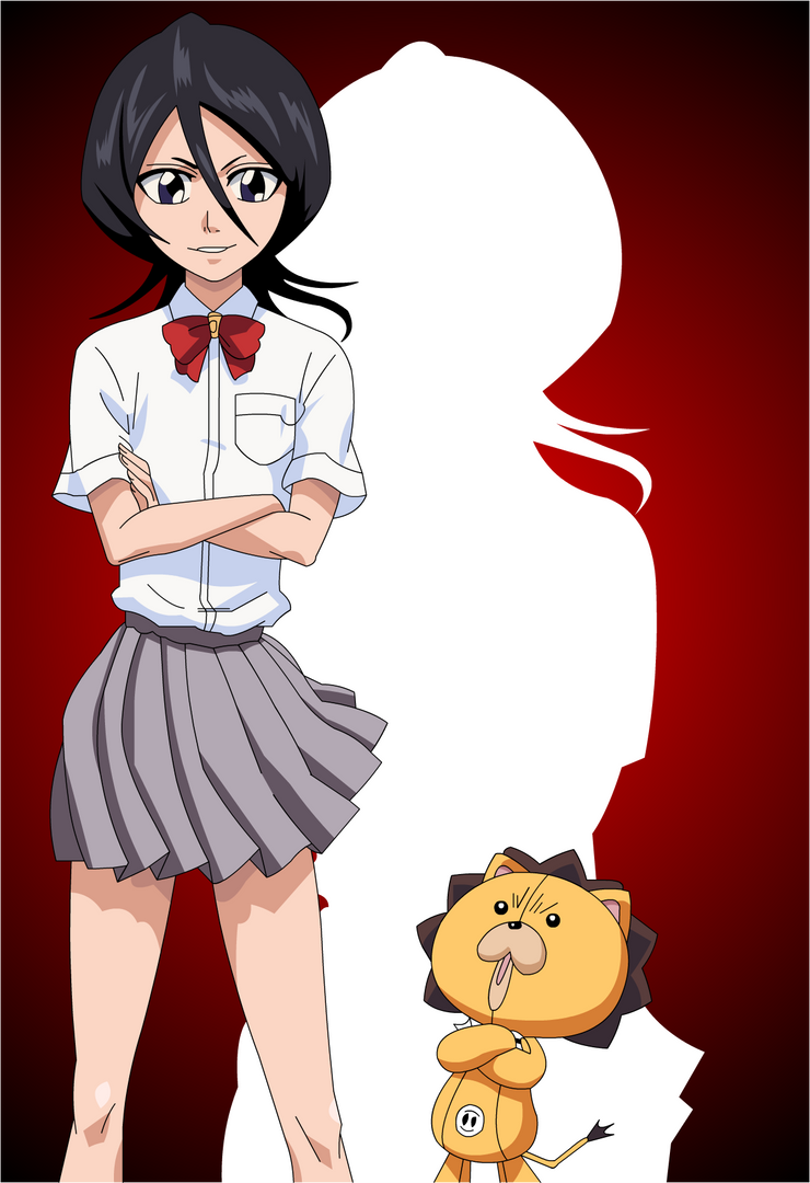 Rukia and Kon :3 by Mifang