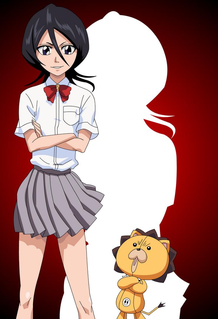 Rukia and Kon :3 by Mifang