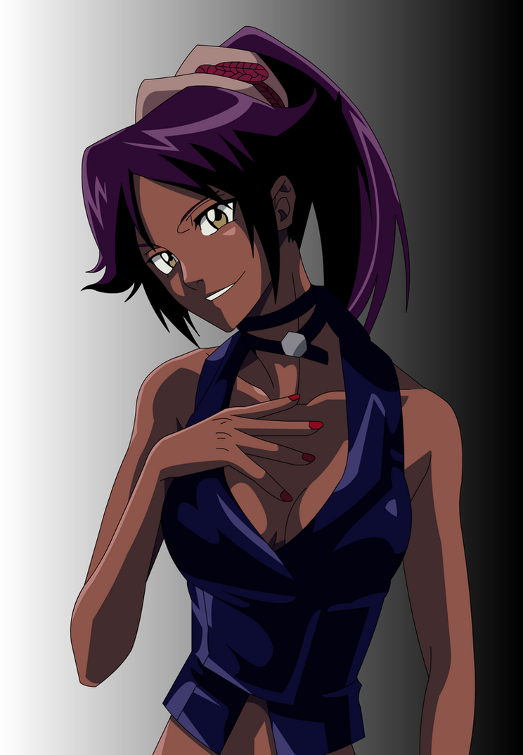 Yoruichi: Beauty itself by Mifang
