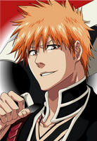 New Shinigami Ichigo :3 by Mifang