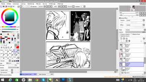 Nyar I.D Prologue storyboard page 1
