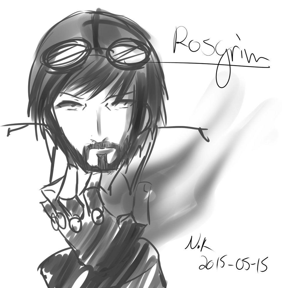 I am a wizzard! (Rosgrim Fan Art)