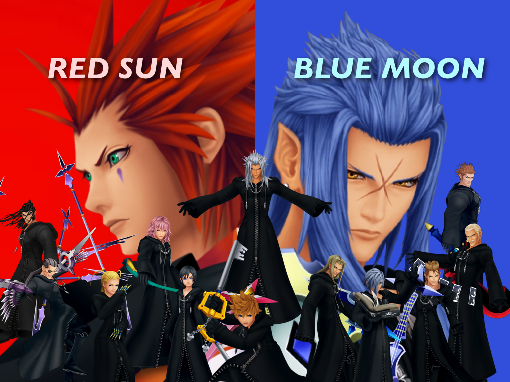 megaman red sun or blue moon - photo #38