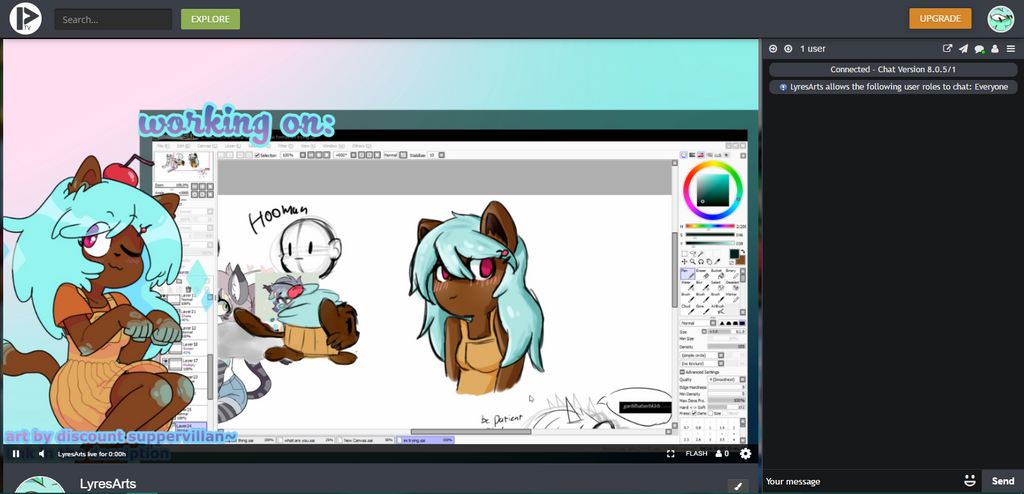 Strem Preview by Lyres-art
