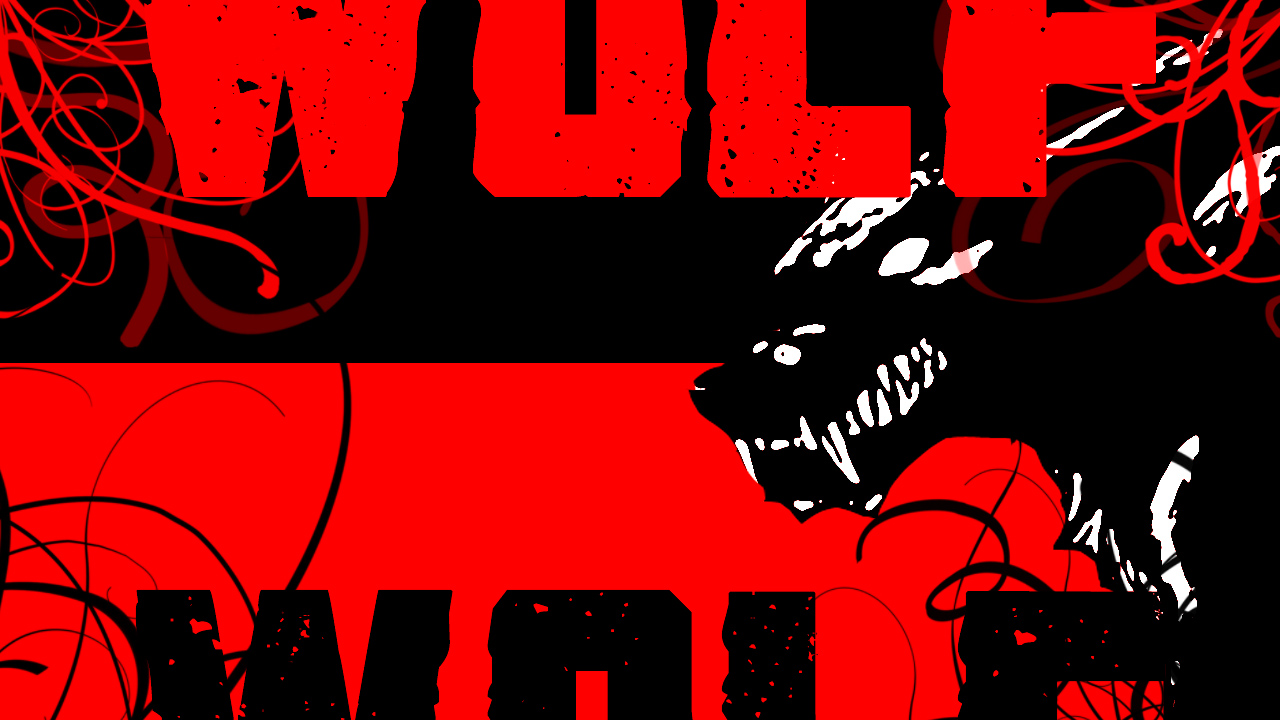 Anthro Wolf Wallpaper Angry Wolf Wallpaper by