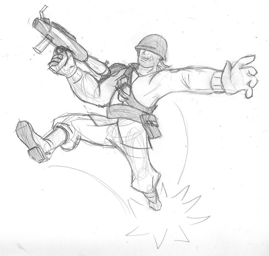 Ww1 Soldier Sketch Templates