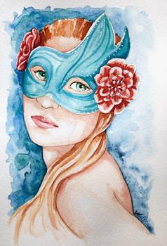 Aquarelle-masque