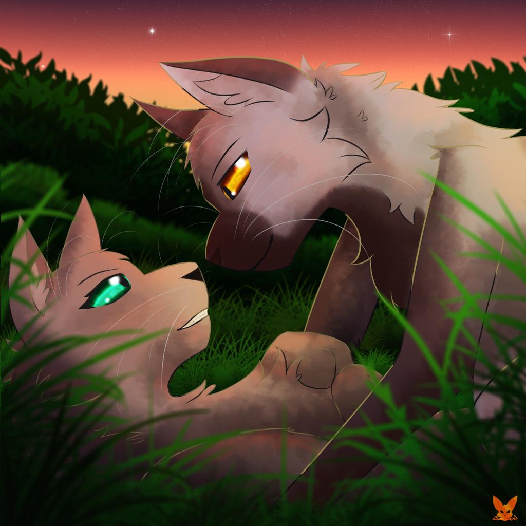 Zeichnungen aus dem Fuchsbau - Seite 3 Together_in_sunset_by_lunelapin-daqfbj0