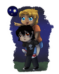 Nico, look at the stars! [COM]