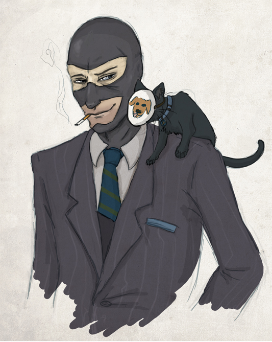 that dog is a spy by apocastasis