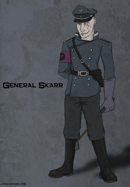 Evil con carne general skarr