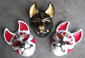 Resin masks by apocastasis