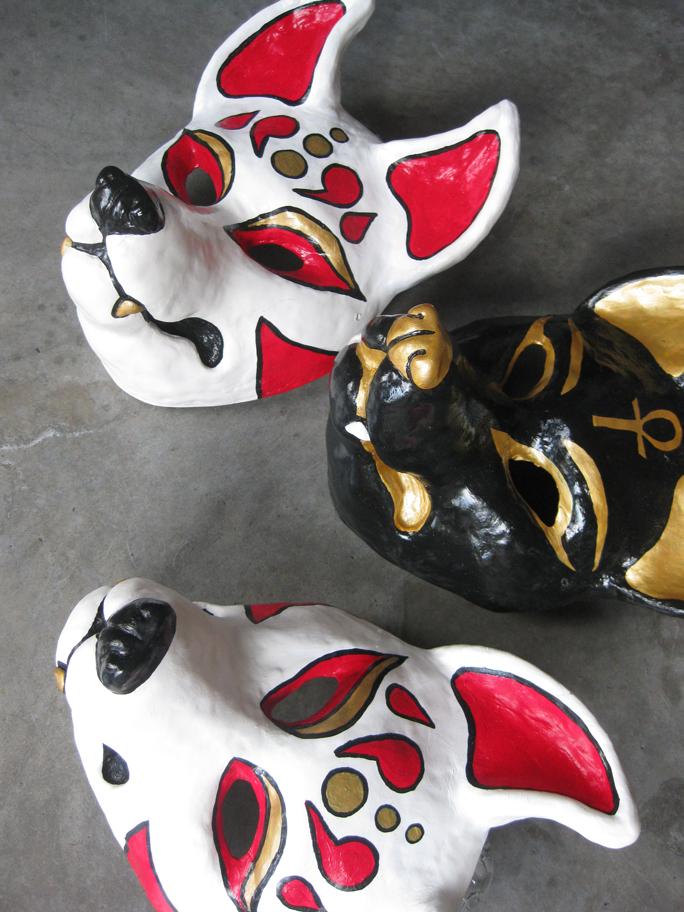 Resin masks 2