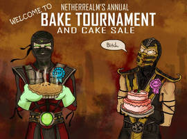 Netherrealm's annual Bake Tournam by apocastasis