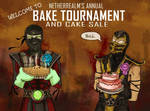 Netherrealm's annual Bake Tournam