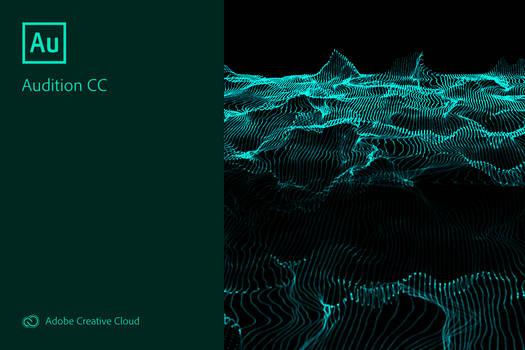 Adobe Audition CC 2019 Splash Screen