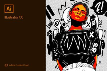 Adobe Illustrator CC 2019 Splash Screen