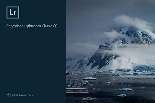 Adobe Lightroom Classic CC 2019 Splash Screen