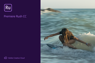 Adobe Premier Rush CC 2019 Splash Screen