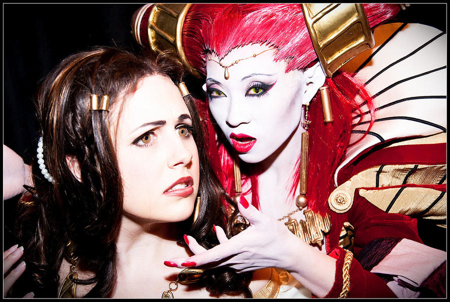 Charlotte + Carmilla - Cosplay by beautifully-twisted