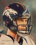 Peyton Manning by Manassehart