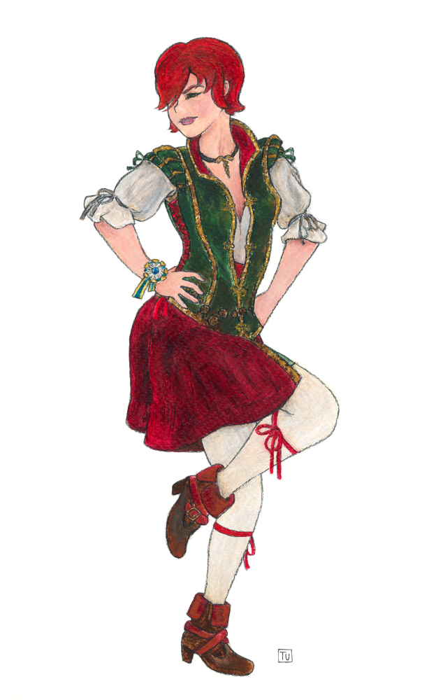 Shani Dancing by aylie