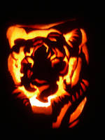 Fire Tiger by Chibi-Shuriken