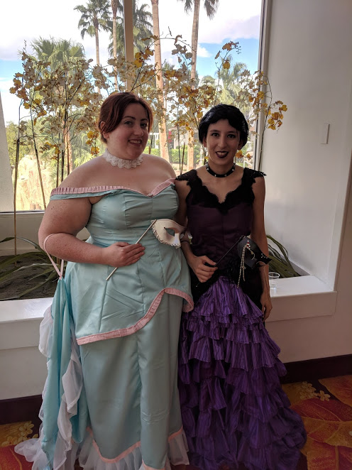 Laura and Carmilla Arrive at the Ball by MaeBerryCosplay