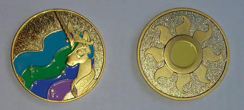 Princess Celestia Coin Photo