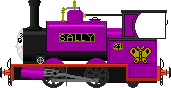 Sally the Young Hughes Engine by Battledroidunit047