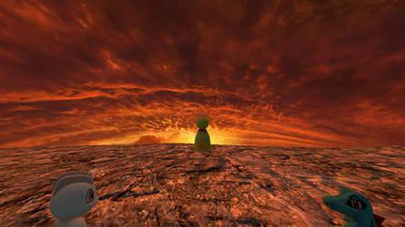 PMD DX Countdown 3: Xatu at Sunset