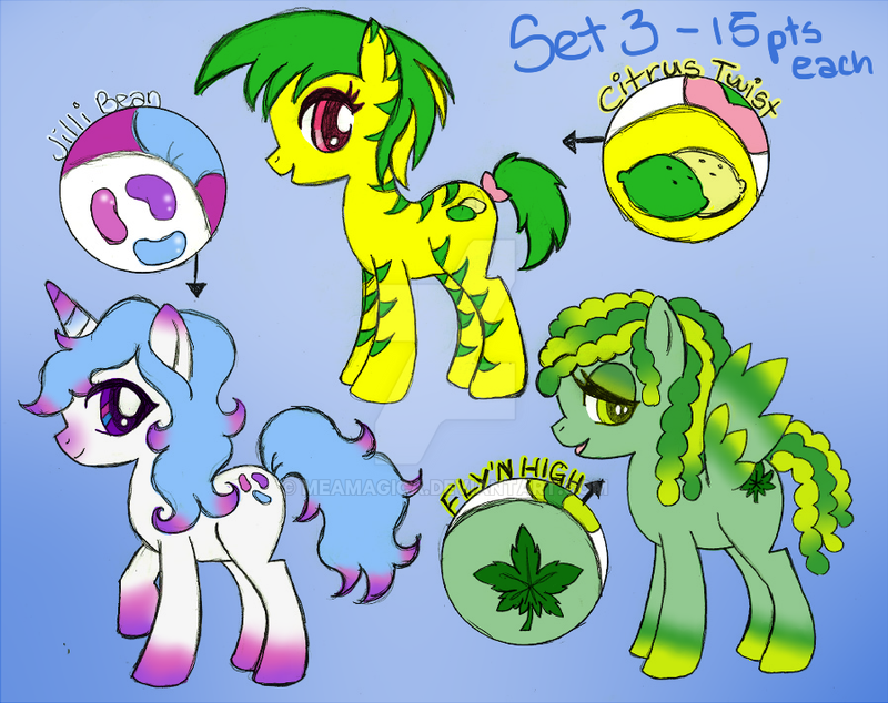 MLP Adatables Set3 CLOSED by mea0113 on DeviantArt