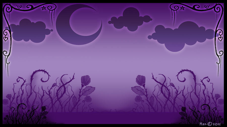 Halloween wall paper 2011 by mea0113