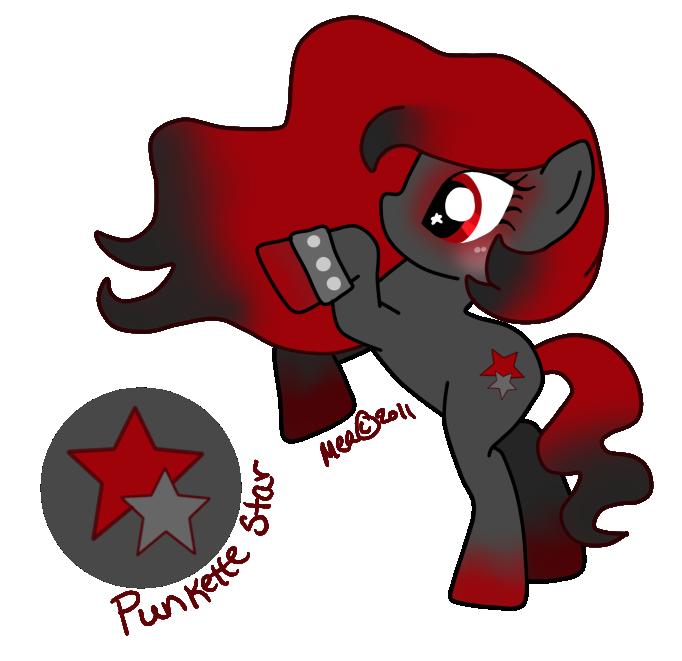 Punkette Star by mea0113