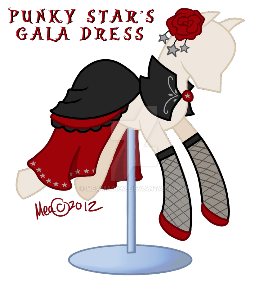 Punkys Gala Dress by mea0113