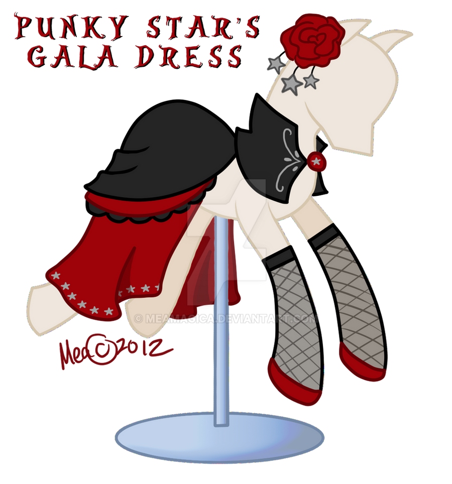 Punkys Gala Dress by mea0113